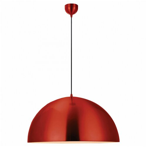 Потолочный светильник Lussole Saratoga LSP-9654, E27, 60 Вт, цвет арматуры: красный, цвет плафона: красный