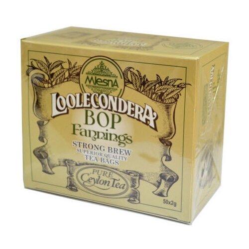 Чай черный Mlesna Loolecondera в пакетиках, 50 шт. чай зеленый mlesna в пакетиках 50 шт