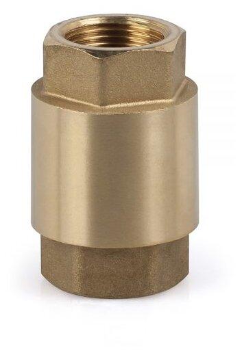 Обратный клапан пружинный SR Rubinetterie 0170 муфтовый (ВР/ВР), латунь