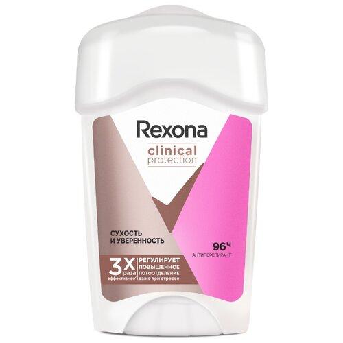 Rexona антиперспирант, крем, Clinical Protection Сухость и Уверенность, 45 мл