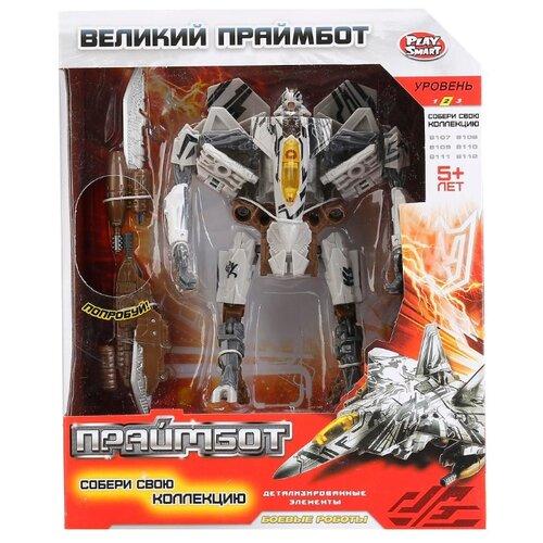 Купить Трансформер Play Smart Великий Праймбот 8112 белый/черный, Роботы и трансформеры
