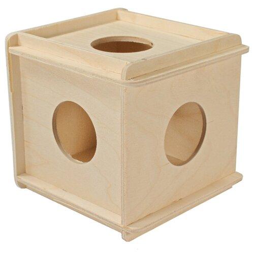 Darell Игрушка для грызунов кубик большой деревянный игрушка для грызунов дарэлл кубик малый деревянный 10 х 10 х 11 5 см 1 шт