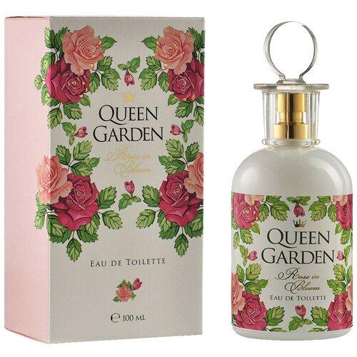 Туалетная вода Парфюмерия XXI века Queen Garden Rose in Bloom, 100 мл