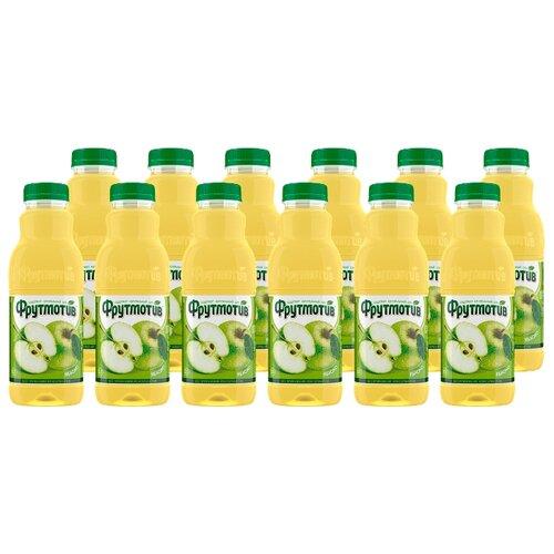 Напиток сокосодержащий Фрутмотив со вкусом яблока, 0.5 л, 12 шт.Соки, нектары, морсы<br>