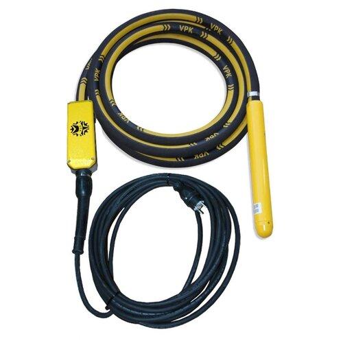 Электрический глубинный вибратор высокочастотный ВПК Механизация Electron 60 желтый/черный