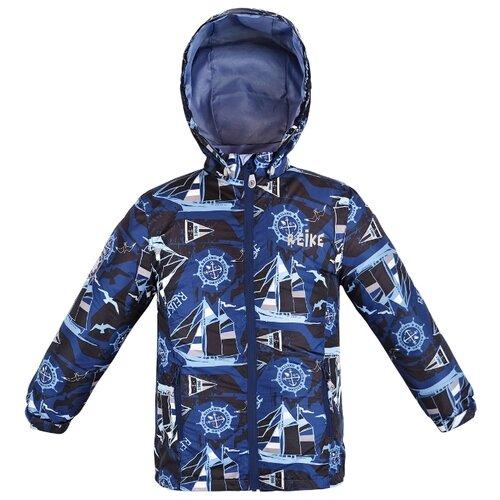 Купить Куртка Reike Sailing размер 152, темно-синий, Куртки и пуховики