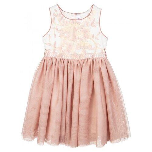 Купить Платье playToday размер 80, бежевый, Платья и юбки