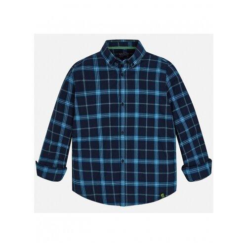 Купить Рубашка Nukutavake размер 128, синий/голубой, Рубашки