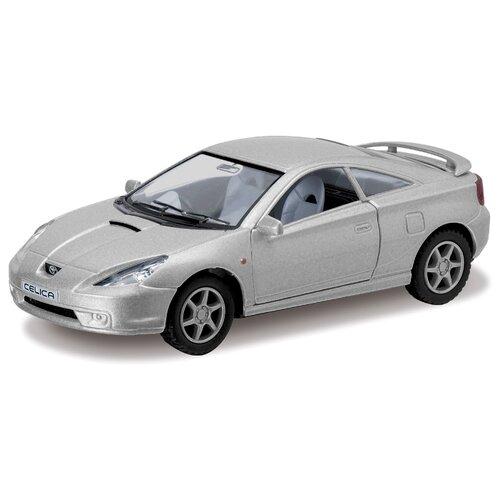 Легковой автомобиль Kinsmart Toyota Celica (KT5038W) 1:34 12.5 см серый