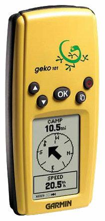 Навигатор Garmin Geko 101