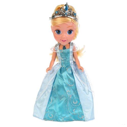 Купить Интерактивная кукла Карапуз Принцессы Disney Моя маленькая принцесса Золушка, 25 см, CIND003, Куклы и пупсы