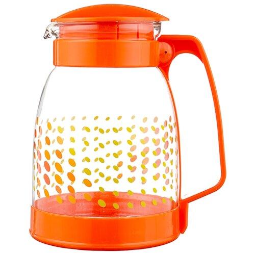 Кувшин Mallony Brocca-1800 1.8 л оранжевый