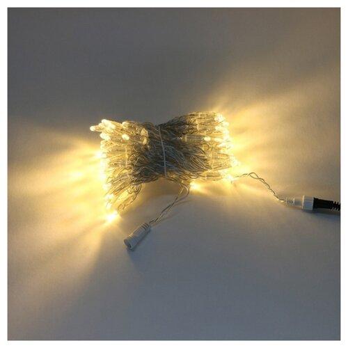 Гирлянда Laitcom нить с колпачком 1 000 см, PST100CAP-10-1, 100 ламп, теплый белый/прозрачный провод по цене 3 675
