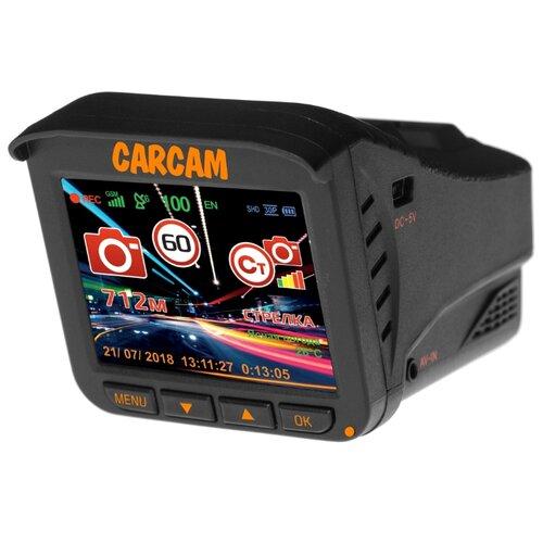Видеорегистратор с радар-детектором CARCAM COMBO 5 LITE, GPS, ГЛОНАСС черный