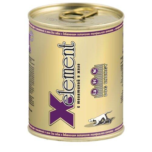 Влажный корм для собак X-Element телятина 850г