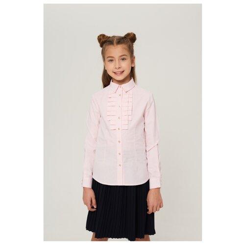 Блузка INFUNT размер 122, розовый блузка infunt размер 122 белый