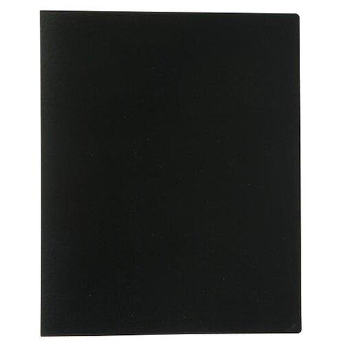 Купить Calligrata Папка на 80 файлов А4, пластик 700 мкм черный, Файлы и папки