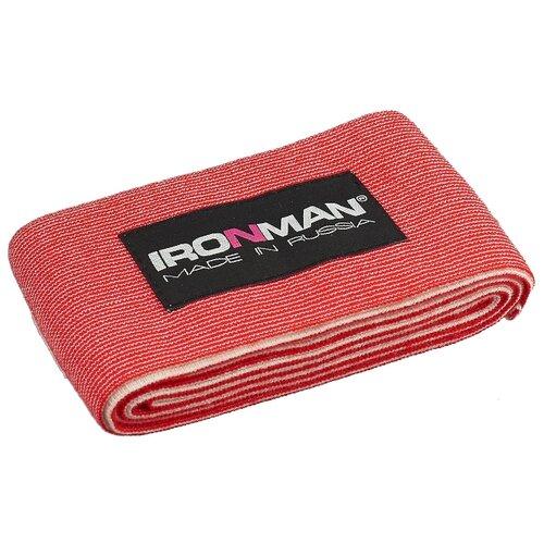 Бинт IRONMAN спортивный общего назначения, 2 метра красный страховка общего назначения ironman цвет красный 2 м