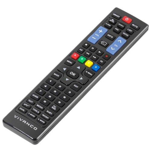 Фото - Пульт ДУ Vivanco для все модели телевизоров Samsung начиная с 2000 года, черный пульт ду huayu для opentech isb7 va70 черный