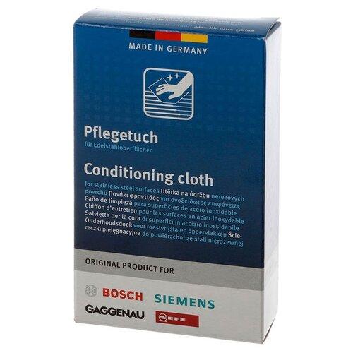 Чистящие салфетки для ухода за поверхностями из нержавеющей стали Bosch 5 шт.