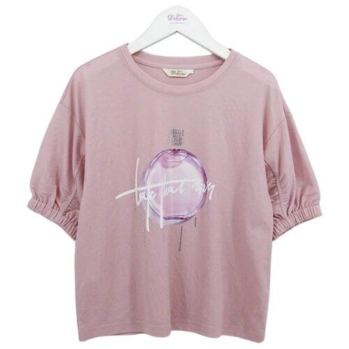 Футболка Deloras размер 146, розовый футболка deloras размер 146 белый