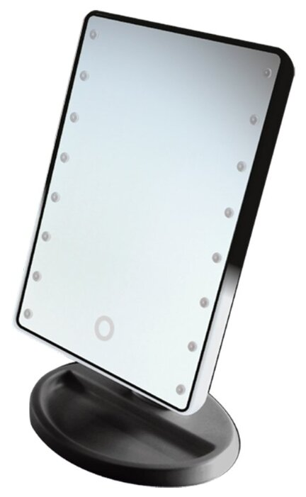 Зеркало косметическое настольное GESS uLike Mini с подсветкой