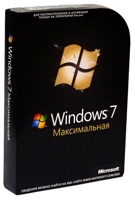 Microsoft Windows 7 Ultimate 32-bit/64-bit, только лицензия, русский, кол-во лицензий: 1, срок действия: бессрочная фото 1
