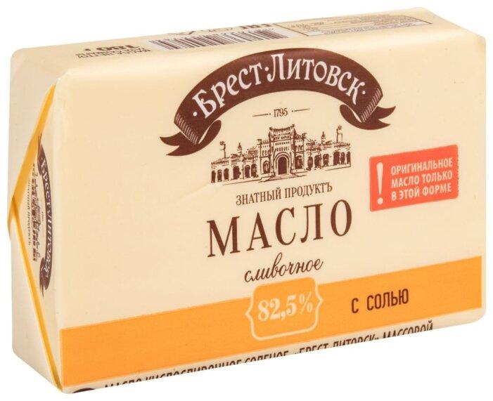Брест-Литовск Масло сливочное соленое 82.5%, 180 г