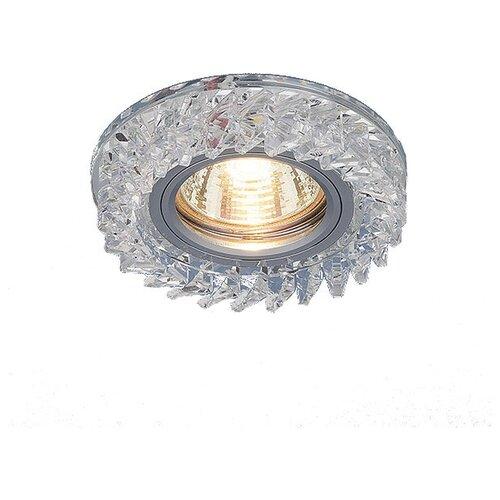 Встраиваемый светильник Elektrostandard 2216 MR16 CL электростандарт светильник точечный 206 mr16 gd cl золото прозрачный