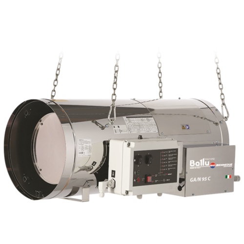 Газовая тепловая пушка Ballu Biemmedue GA/N 95 C (97.09 кВт) теплогенератор мобильный дизельный ballu biemmedue ge 20