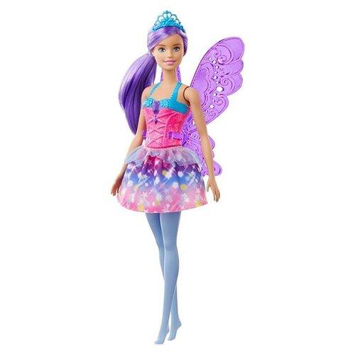 Фото - Кукла Barbie Dreamtopia Фея, 30 см, GJK00 кукла barbie dreamtopia