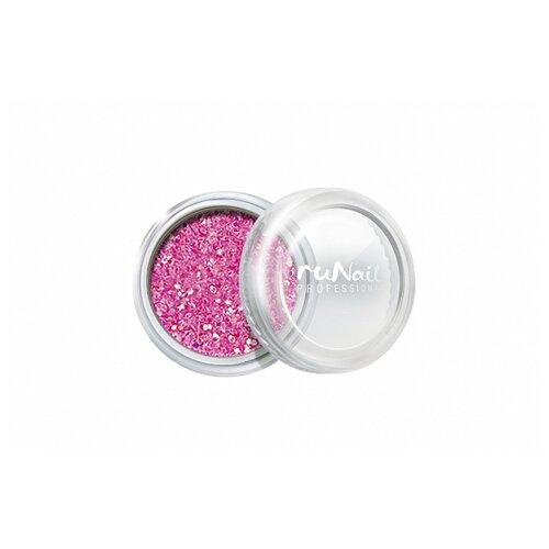 Блестки Runail блестки неоново-розовый