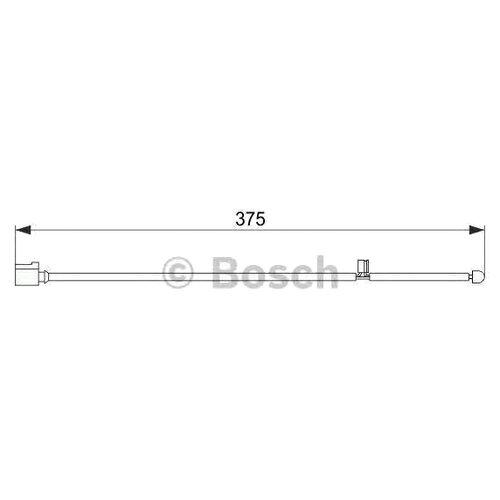 Датчик износа тормозных колодок передний Bosch 1987474562 для Porsche Cayenne, Porsche Panamera, Volkswagen Touareg