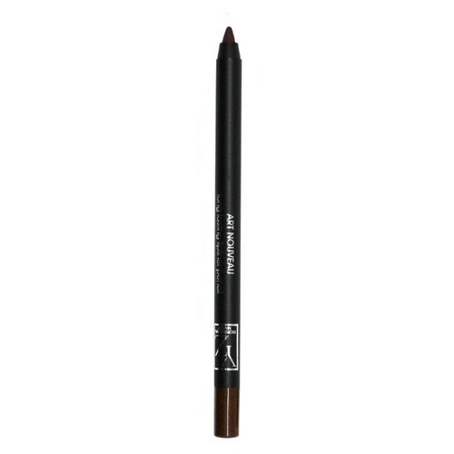 Yllozure Стойкий контурный карандаш для глаз Art Nouveau, оттенок коричневый гель для душа yllozure yllozure yl001lwfz982