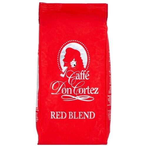 Кофе в зернах Don Cortez Red, арабика/робуста, 1000 г кофе в зернах carraro don cortez black 1000гр