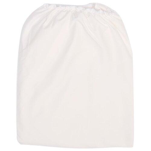 Сонный Гномик простыня на резинке белый