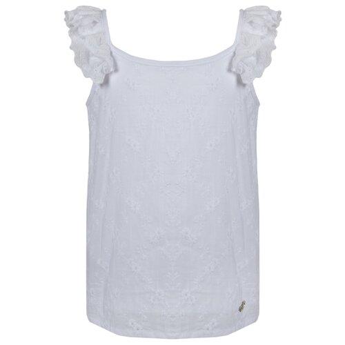 Купить Майка Stefania Pinyagina размер 158, белый, Футболки и майки