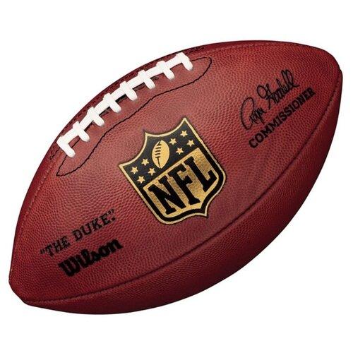 Мяч для американского футбола Wilson Duke Replica (WTF1825XB) темно-коричневый