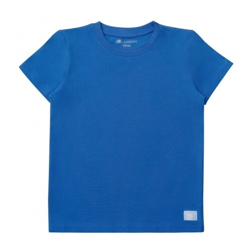 Футболка Kogankids размер 116, синий платье kogankids размер 116 синий