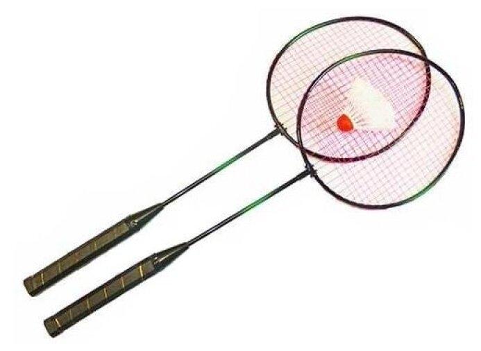 Набор ракеток для бадминтона 2шт (волан, чехол) Sport Elite HS-001
