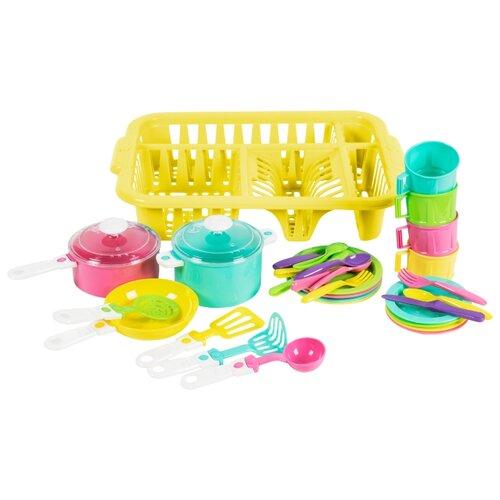 цена на Набор посуды Orion Toys Ириска 5 разноцветный