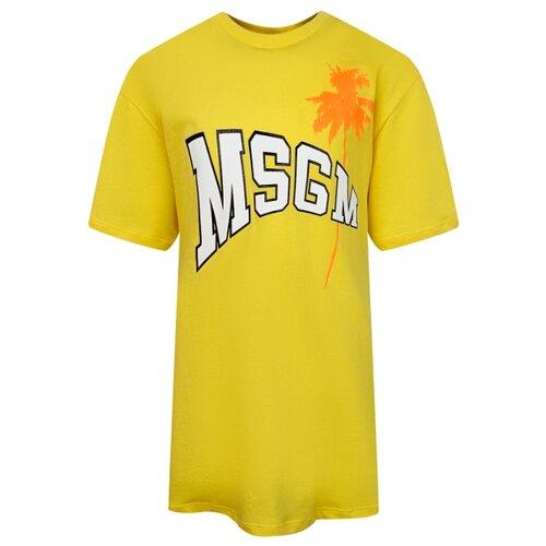 Платье MSGM размер 152, желтый