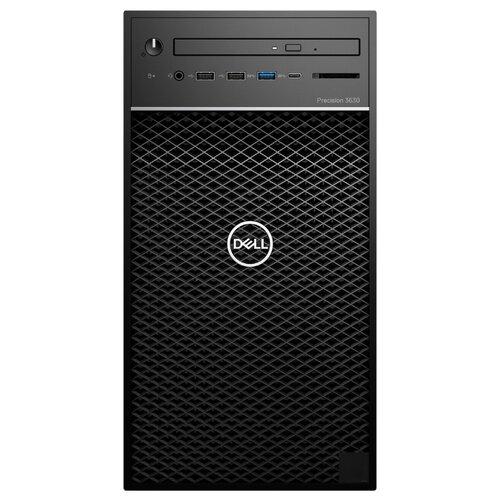 Настольный компьютер DELL Precision 3630 MT (3630-2356) Mini-Tower/Intel Core i7-8700/8 ГБ/256 ГБ SSD/NVIDIA Quadro P1000/Windows 10 Pro черный компьютер
