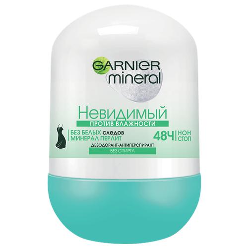 Дезодорант-антиперспирант ролик Garnier Mineral Невидимый. Против влажности 50 млДезодоранты<br>