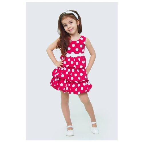 Купить Платье Ladetto размер 28-110, малиновый, Платья и сарафаны