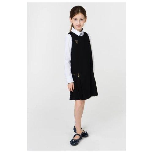 Сарафан Маленькая Леди размер 146, черный cms 20 40фигурка маленькая леди pavone