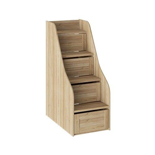Лестница ТриЯ для кровати Ривьера ТД-241.11.12 дуб ривьера