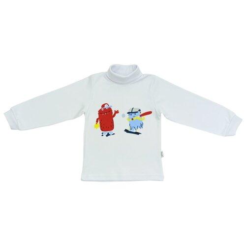 Купить Водолазка Папитто размер 98, белый, Свитеры и кардиганы