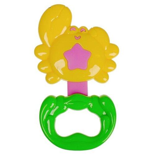 Купить Погремушка Крошка Я Крабик 2912785 желтый / зеленый, Погремушки и прорезыватели