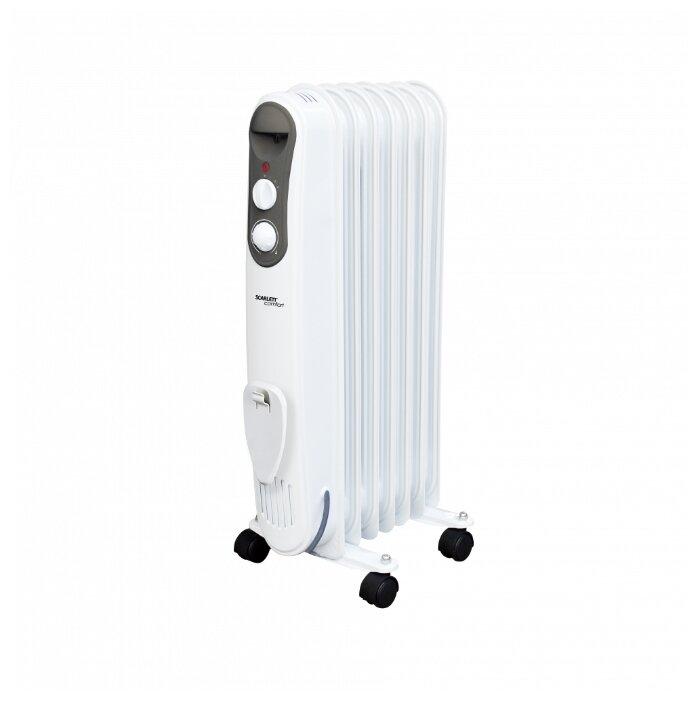 Масляный радиатор Scarlett SC 21.1507 S4/S4B фото 1